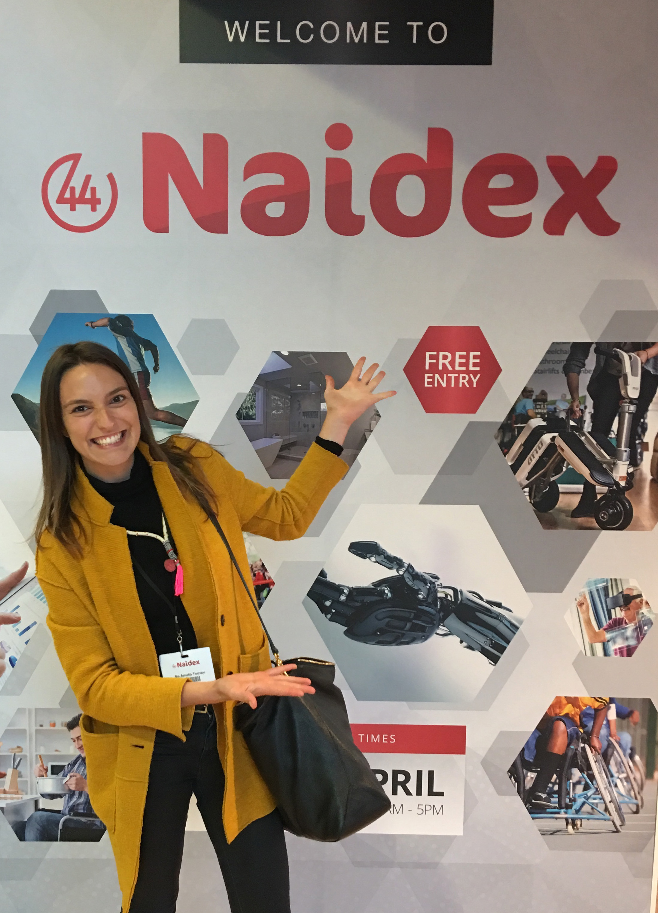 Milly Toovey at Naidex