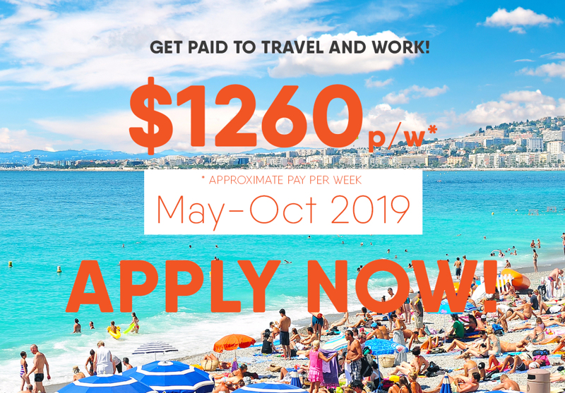 Want to travel to Europe whilst making money?